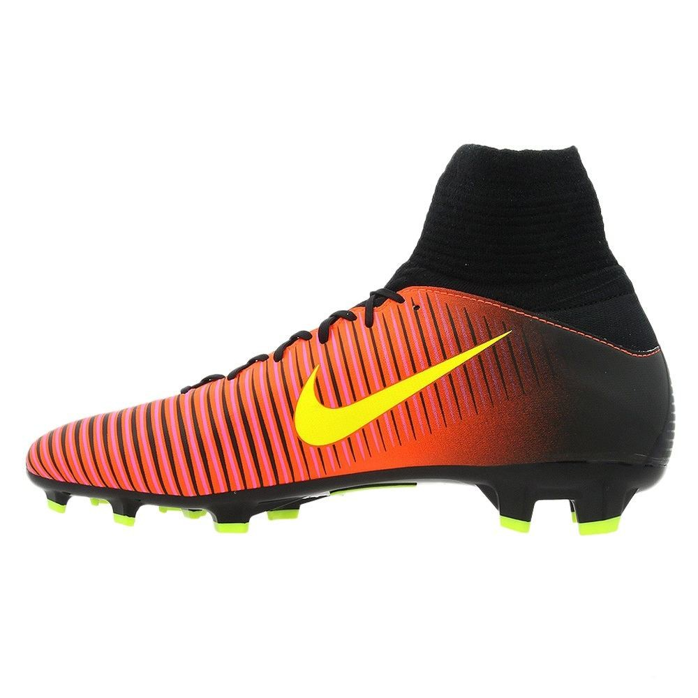 low cost 7440a a7e73 Younger Football boots for firm ground Nike MERCURIAL SUPERFLY V FG Jr. -  831943-870